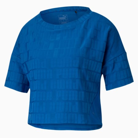 PUMA x FIRST MILE Mono dryCELL Women's Training T-Shirt, Lapis Blue, small-IND