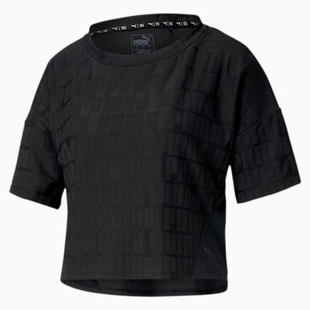 PUMA x FIRST MILE Mono dryCELL Women's Training T-Shirt, Puma Black, small-IND