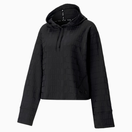 First Mile Mono dryCELL Women's Training Hoodie, Puma Black, small-IND