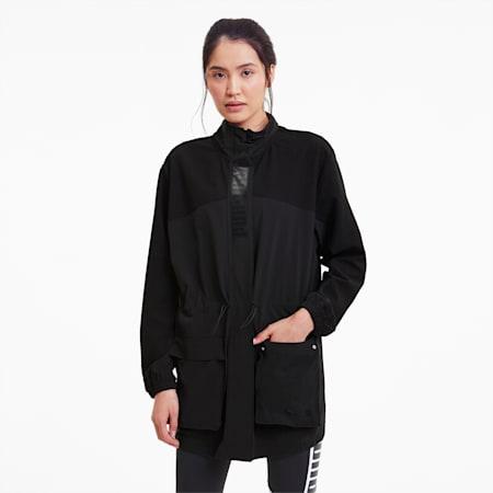 PUMA x FIRST MILE Mono Women's Training Jacket, Puma Black, small