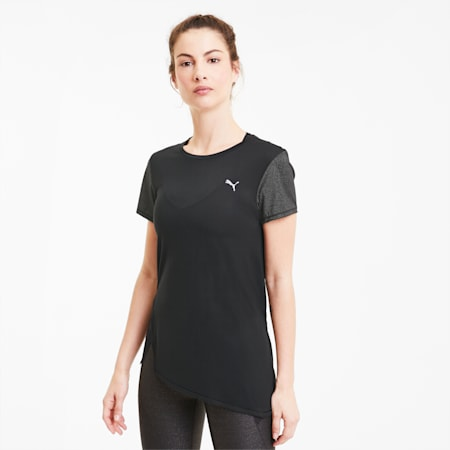 Studio Metallic Women's Tee, Puma Black, small