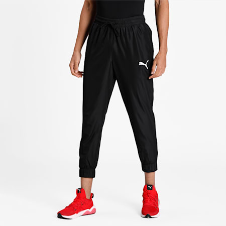 Cross The Line Warm Up Men's Performance Pants, Puma Black, small-IND