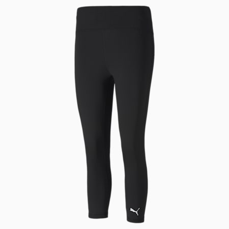 Cross The Line 3/4 Length Women's Tights, Puma Black, small-IND