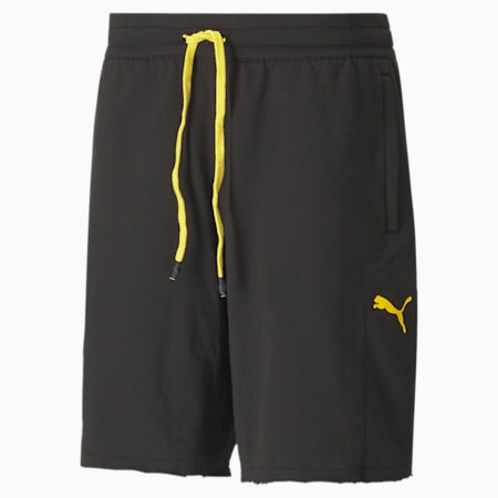 PUMA x GOLD'S GYM Knitted dryCELL Men's Training Shorts, Puma Black, small