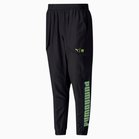 PUMA x FIRST MILE Xtreme Men's Training Pants, Puma Black, small