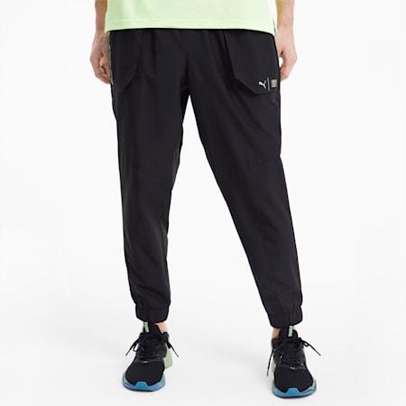 PUMA x FIRST MILE Xtreme Men's Training Pants, Puma Black, small-SEA