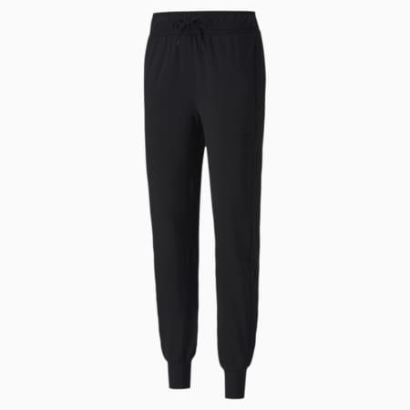 Studio Knit Women's Training Pants, Puma Black, small-SEA