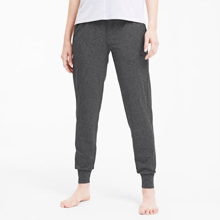 Studio Knit dryCELL Women's Training Relaxed Pants, Dark Gray Heather, small-IND