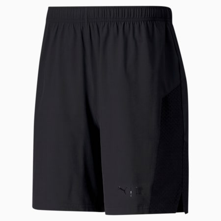 "PUMA x FIRST MILE Mono 7"" dryCELL Men's Training Shorts, Puma Black, small-IND"