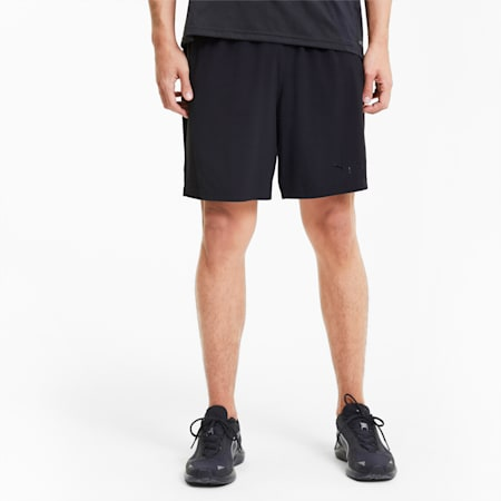 "PUMA x FIRST MILE Mono Men's 7"" Training Shorts, Puma Black, small"