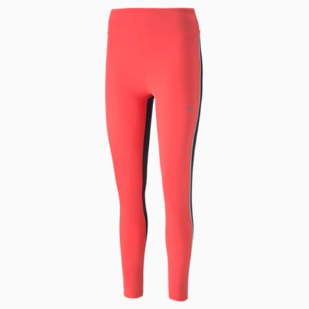 Leggings estampados Neo-Future para mujer, Ignite Pink-Peacoat, pequeño