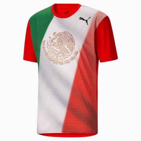 Camiseta para correr Country Emblem Techpara hombre, Puma Red-Mexico, pequeño