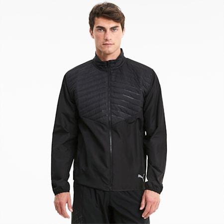 Run Favorite Men's Puffer Jacket, Puma Black, small