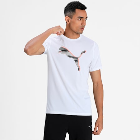 PUMA X Virat Kohli Men's Active T-Shirt, Puma White, small-IND