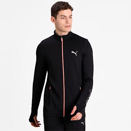 PUMA x Virat Kohli Full Zip Track Jacket, Puma Black, small-IND