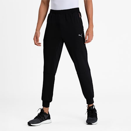 PUMA X Virat Kohli Men's Active Sweatpants, Puma Black, small-IND