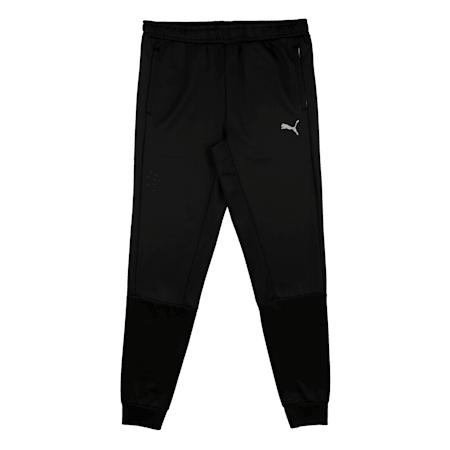 Virat Kohli Boys Active Sweatpants, Puma Black, small-IND
