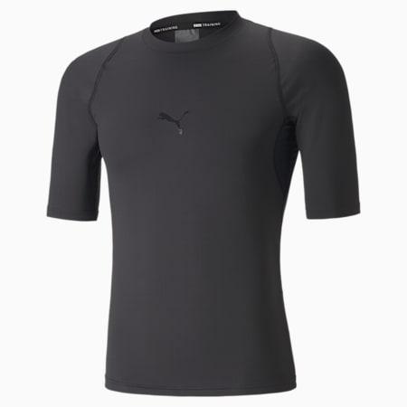푸마 엑소 아답트 반팔 티셔츠, Puma Black, small-KOR