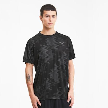 パフォーマンス トレーニング AOP 半袖 Tシャツ, Puma Black-Zen AOP, small-JPN