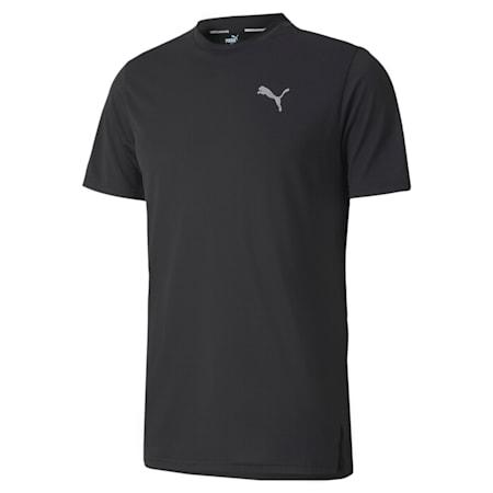 ランニング ライト レイザーカット 半袖 Tシャツ, Puma Black, small-JPN