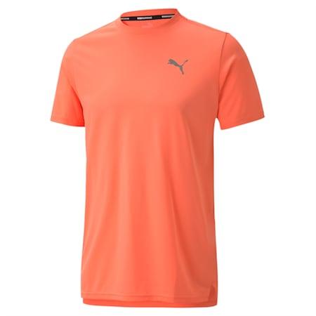 ランニング ライト レイザーカット 半袖 Tシャツ, Nrgy Peach, small-JPN