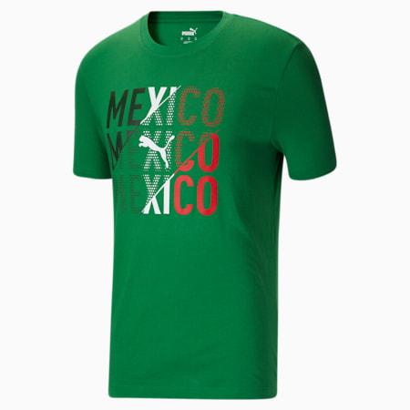 Camiseta para fanáticos de México para hombre, Amazon Green-Mexico, pequeño