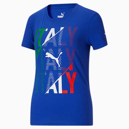 Camiseta para fanáticos de Italia para mujer, Surf The Web-Italia, pequeño