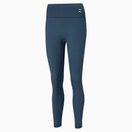 Exhale High Waist Women's Training Leggings, Ensign Blue, small