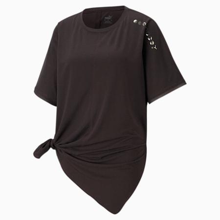 EXHALE スタジオ リラックスフィット Tシャツ ウィメンズ, After Dark, small-JPN