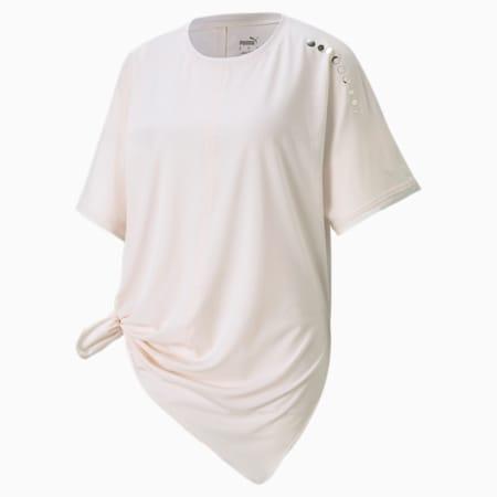 T-shirt coupe masculine Exhale, femme, Parchemin pastel, petit