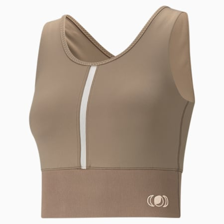 Exhale Women's Training Crop Top, Amphora, small-IND