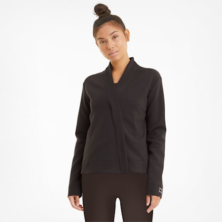 Exhale Knit Women's Training Cover Up, After Dark, small