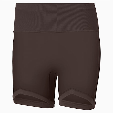 Exhale Solid Women's Training Shorts, After Dark, small