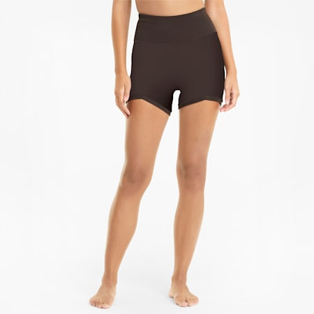 Exhale Solid Damen Trainingsshorts, After Dark, small