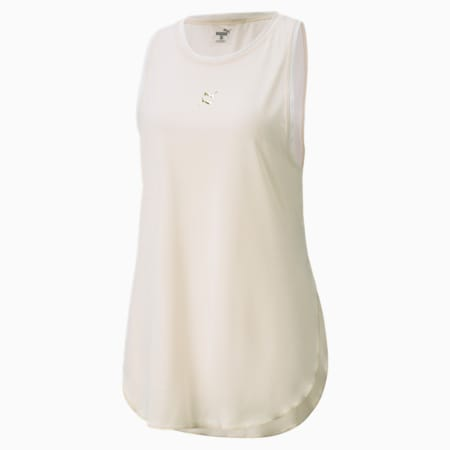 T-shirt coupe masculine Exhale, femme, Seedpearl, petit
