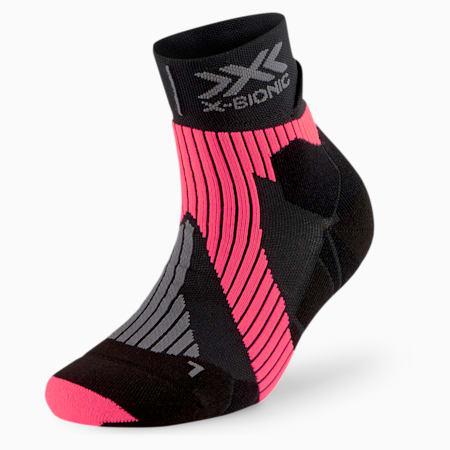 PUMA BY X-BIONIC ランニング パフォーマンス ソックス 靴下 ユニセックス, Puma Black-Pink Alert, small-JPN