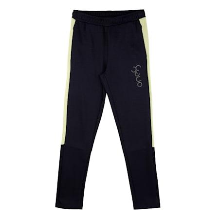 PUMA x Virat Kohli  Active Boy's Sweatpants, Puma Black-Nrgy Peach, small-IND