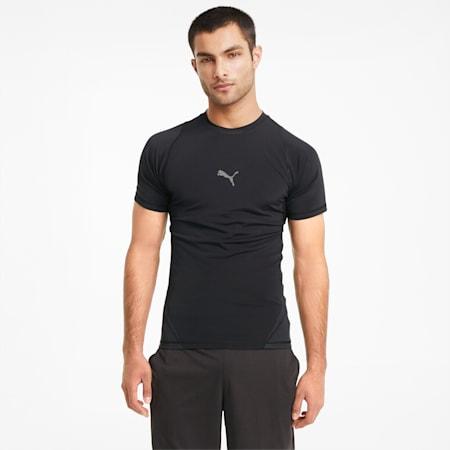 EXO-ADAPT Short Sleeve Men's Training Tee, Puma Black, small-SEA