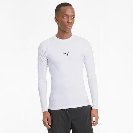 T-shirt da allenamento a maniche lunghe EXO-ADAPT uomo, Puma White, small