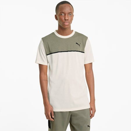 Camiseta de entrenamiento Bondedpara hombre, Eggnog-Vetiver, pequeño