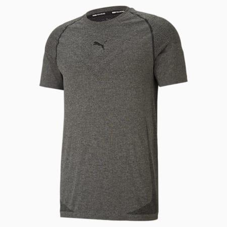 T-shirt da allenamento a maniche corte evoKNIT Tech uomo, Puma Black, small