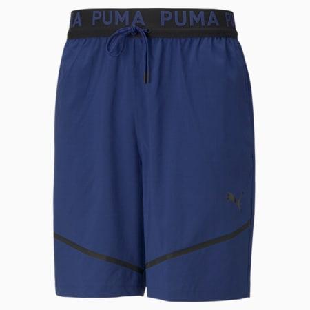 "Woven 8"" Men's Training Shorts, Elektro Blue, small-IND"