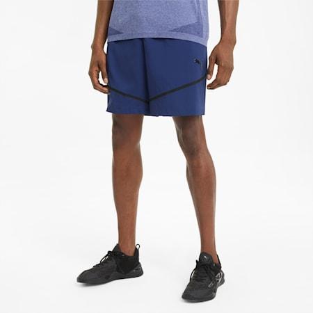 "Woven 8"" Men's Training Shorts, Elektro Blue, small"
