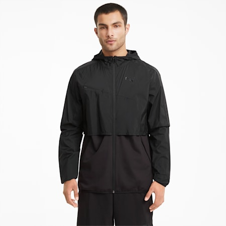 Ultra Woven Men's Training Jacket, Puma Black, small