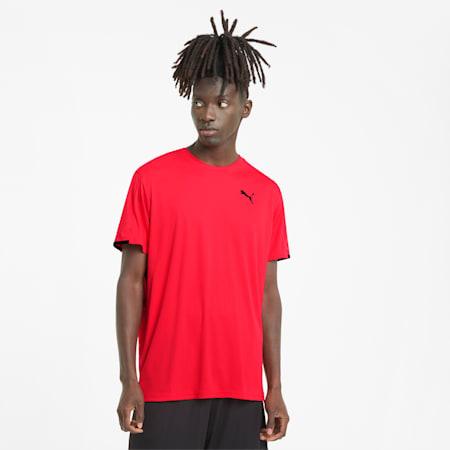 트레인 그래픽 반팔 티셔츠/TRAIN GRAPHIC SS TEE, Poppy Red, small-KOR