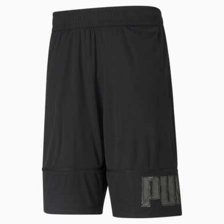 Session Men's Knitted Training Shorts, Puma Black, small