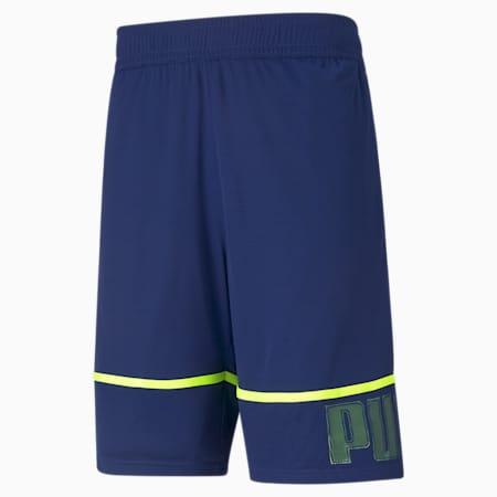 Session Men's Knitted Training Shorts, Elektro Blue, small