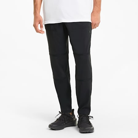 Vent Men's Woven Training Pants, Puma Black, small