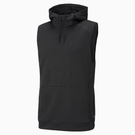 Tech Knit Men's Training Hoodie, Puma Black, small