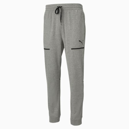 Tech Knitted Men's Training Joggers, Medium Gray Heather, small-IND